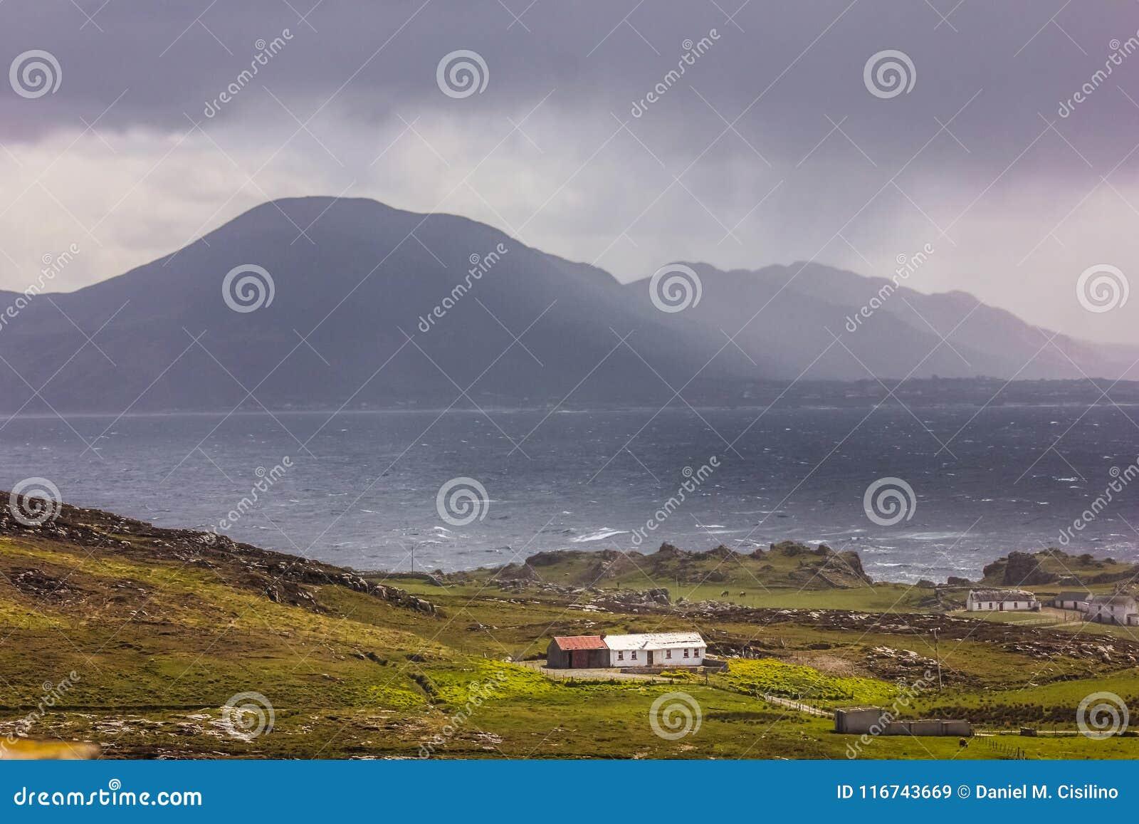 Paisagem Cabeça de Malin Inishowen r ireland