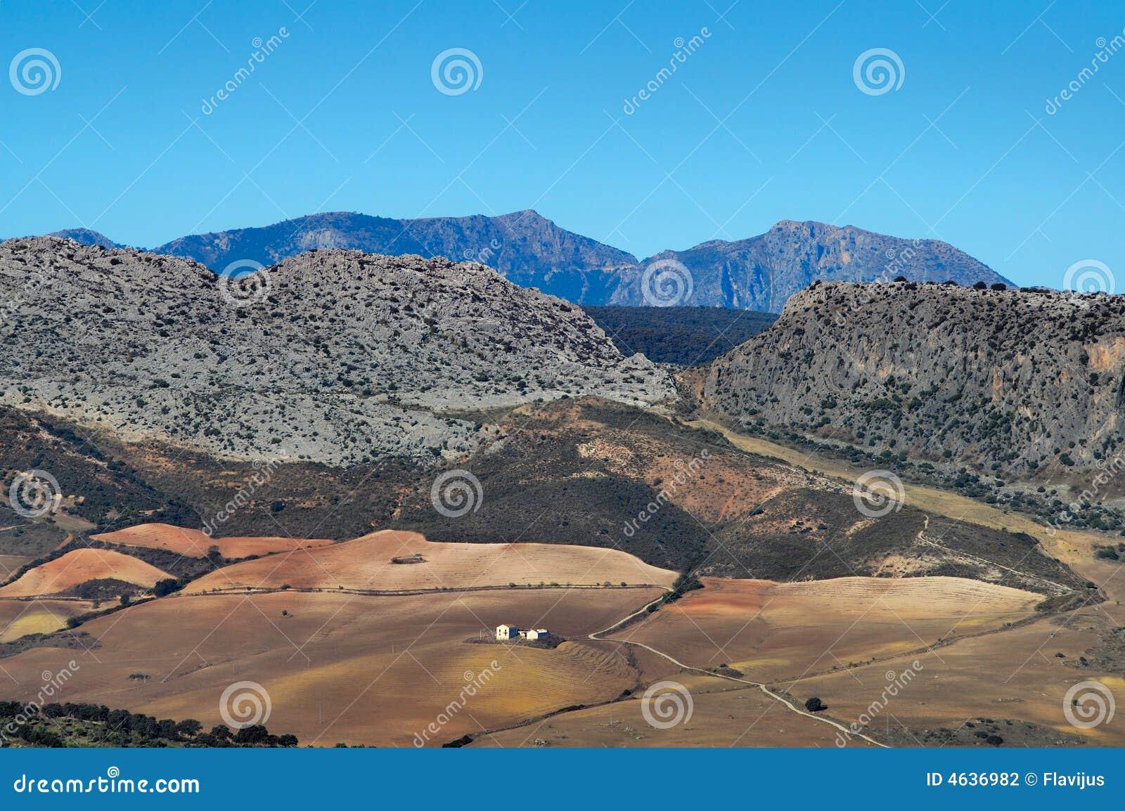 Paisagem da Andaluzia