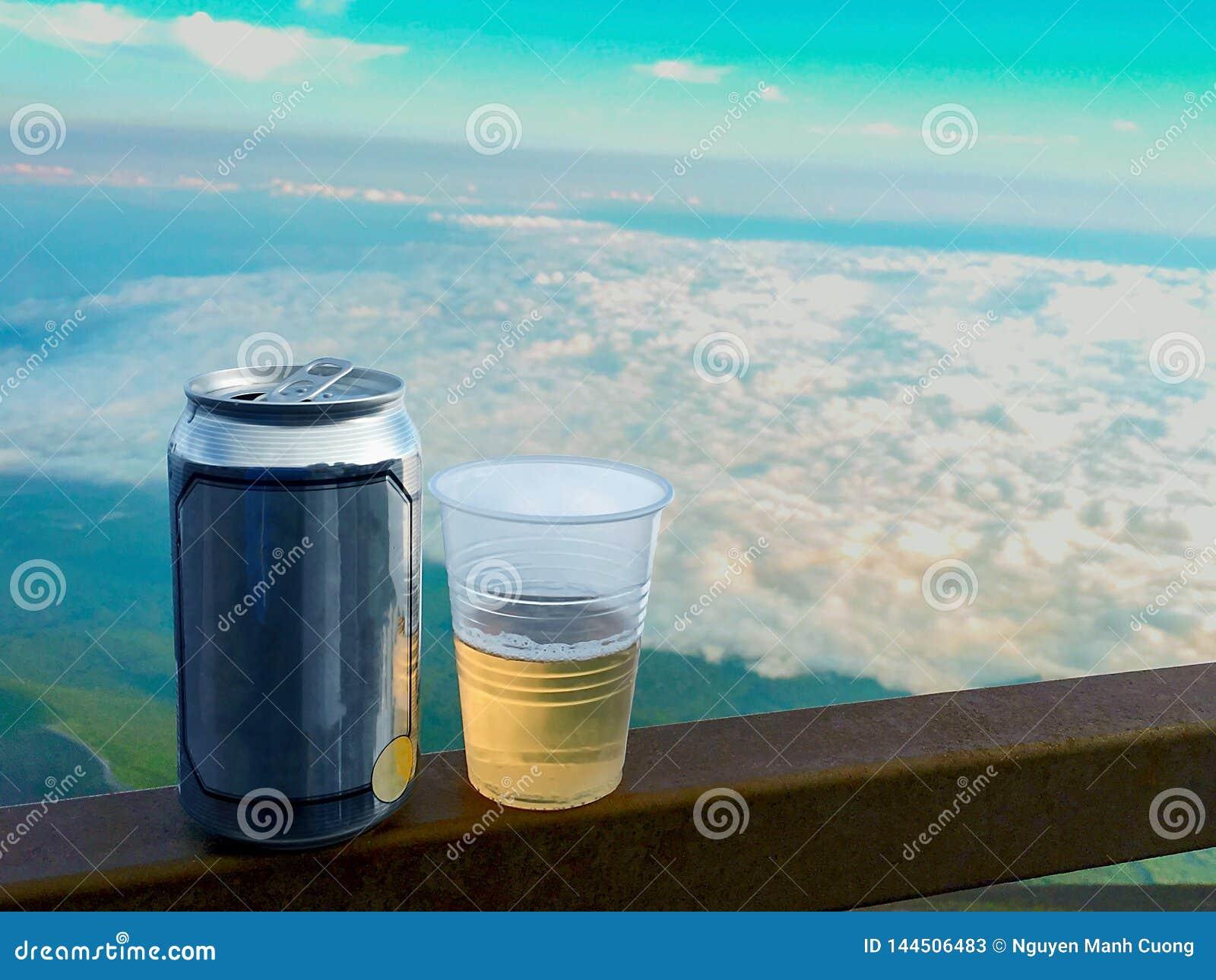 Paisagem da cerveja em Mt-Fuji em Japão
