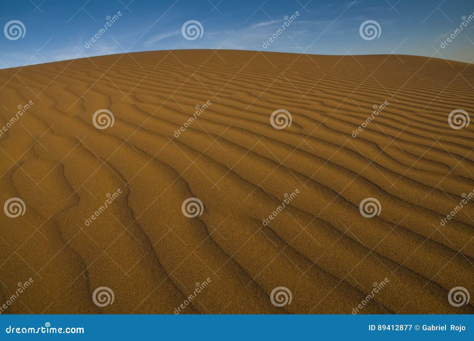 Paisagem da duna, La Pampa, Argentina