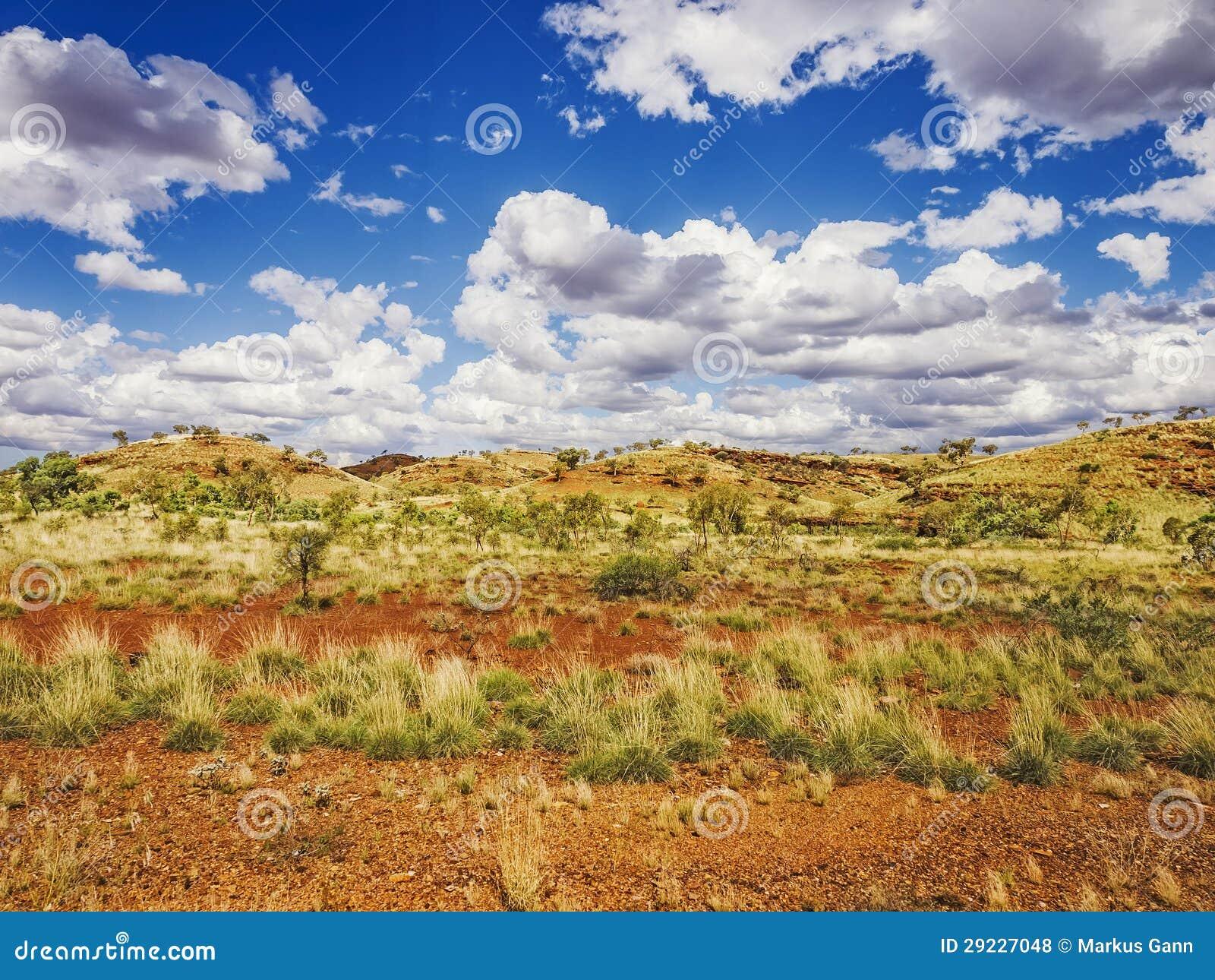 Download Paisagem de Austrália foto de stock. Imagem de outback - 29227048
