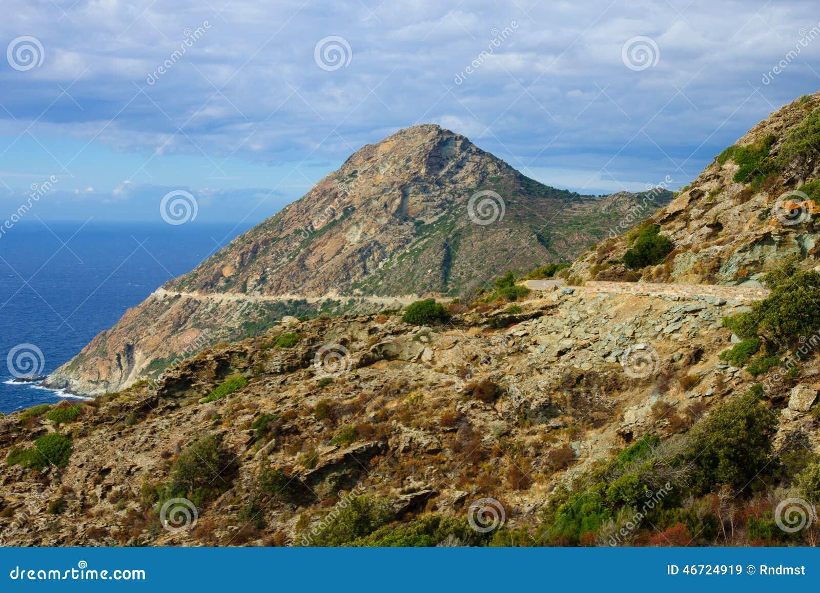 Paisagem de Cap Corse