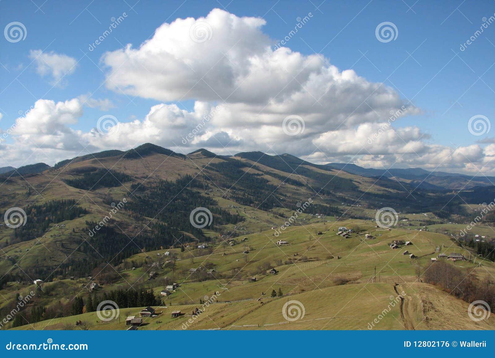 Paisagem de Carpathianâs.