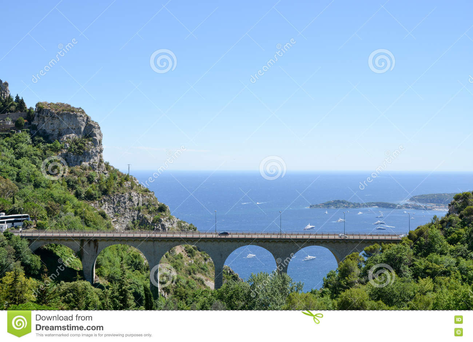 Paisagem de Provence - Eze