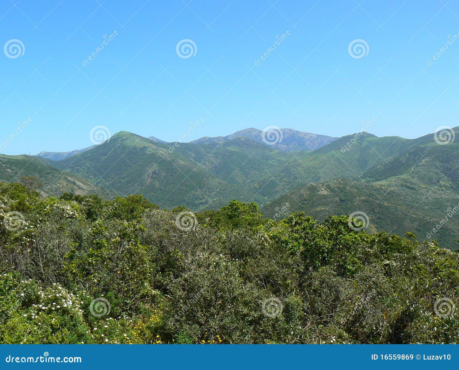Paisagem de Sardinia