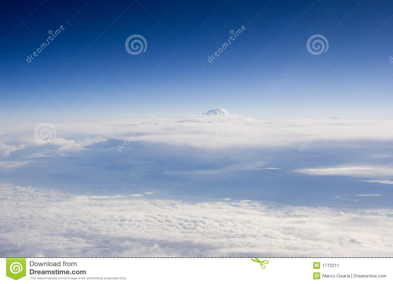 Paisagem do céu