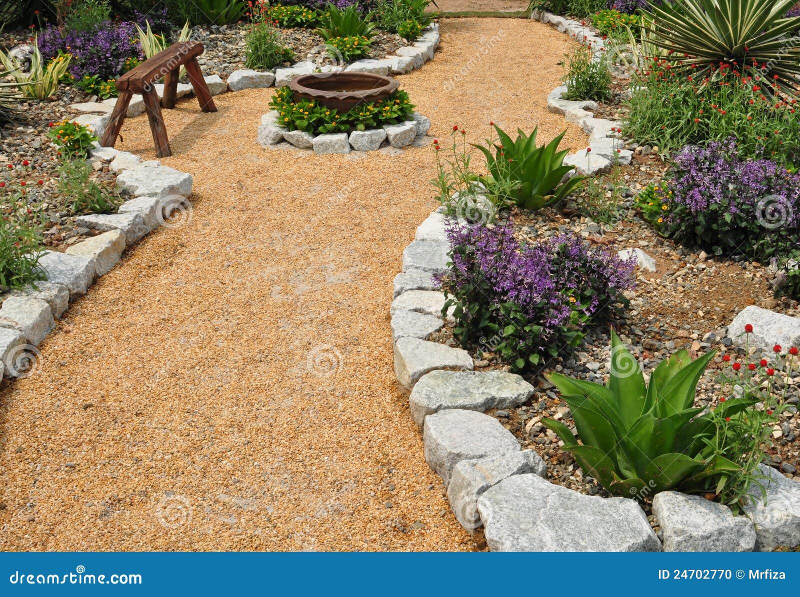 Paisagem do jardim