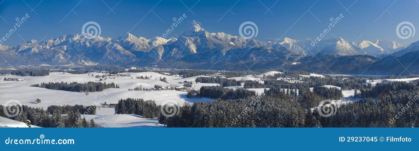 Download Paisagem Do Panorama No Bavaria Imagem de Stock - Imagem de beleza, paisagem: 29237045
