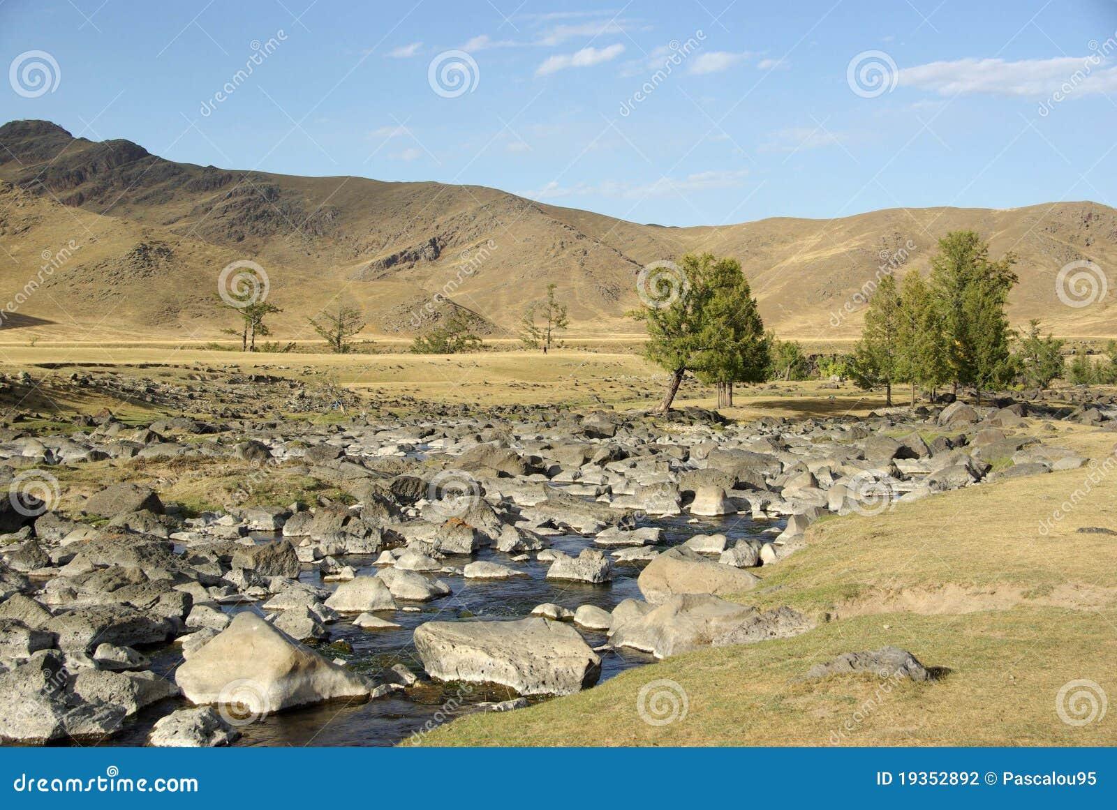Paisagem em Mongolia