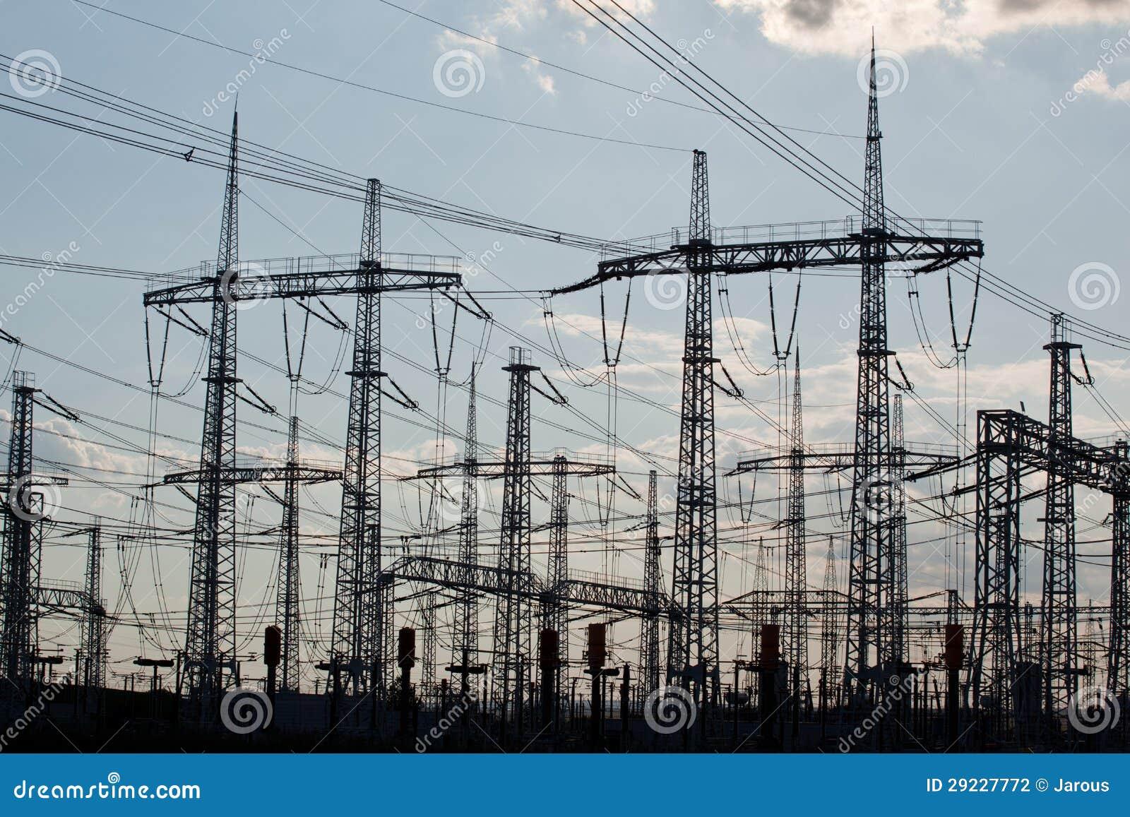 Download Paisagem industrial foto de stock. Imagem de perigo, energia - 29227772