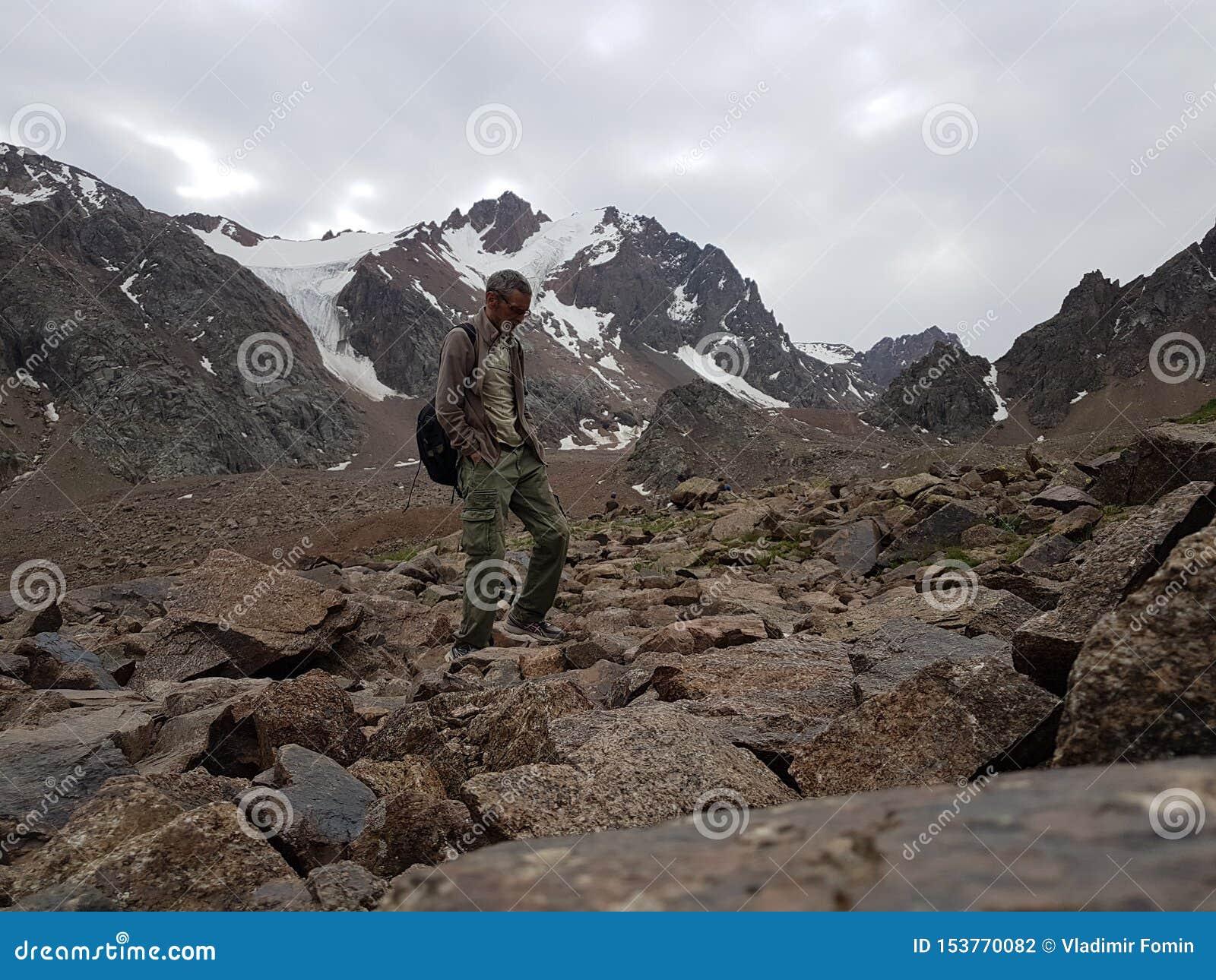Paisagem nas montanhas