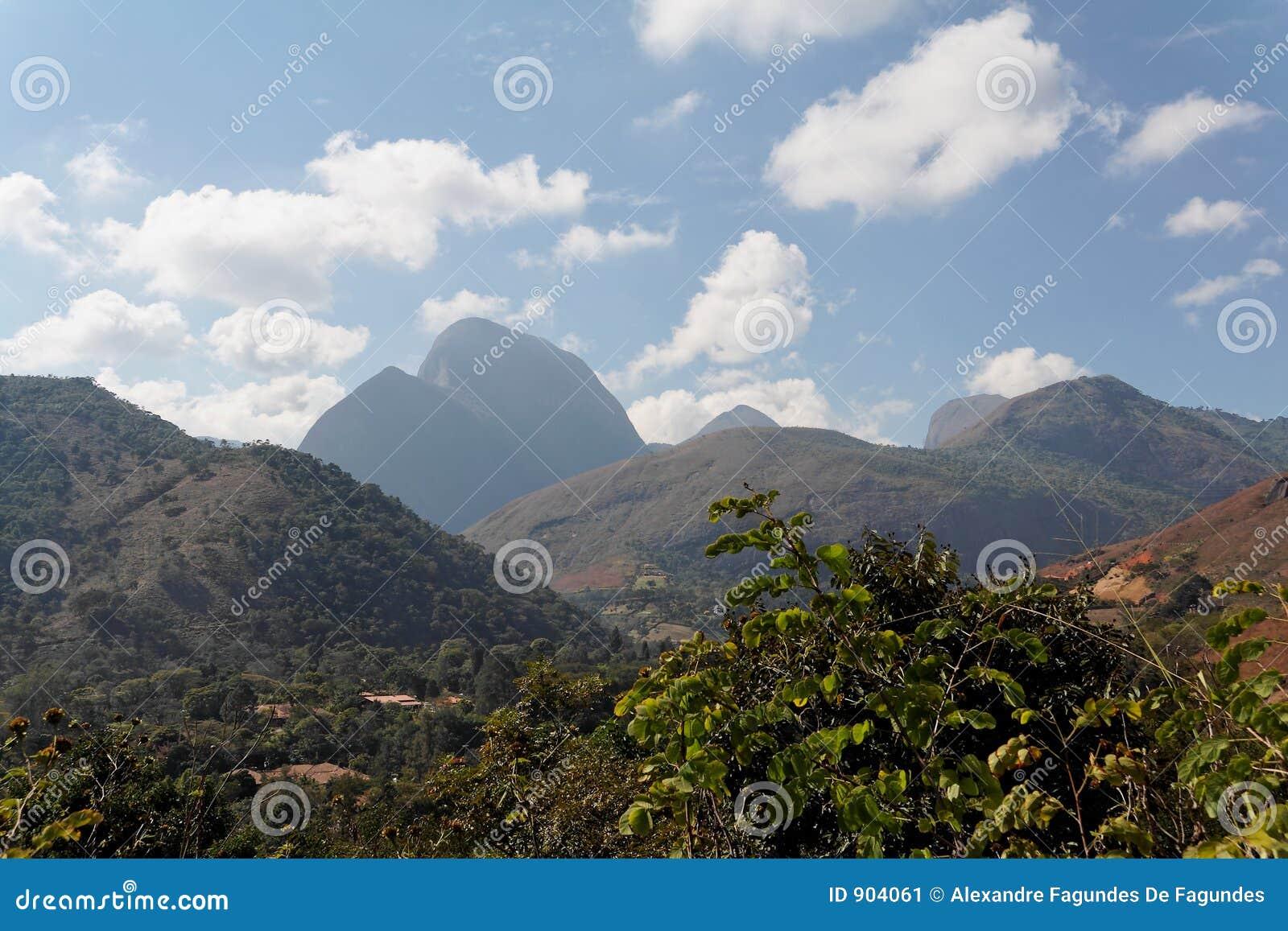 Paisagem Teresopolis Das Montanhas Imagem de Stock ...