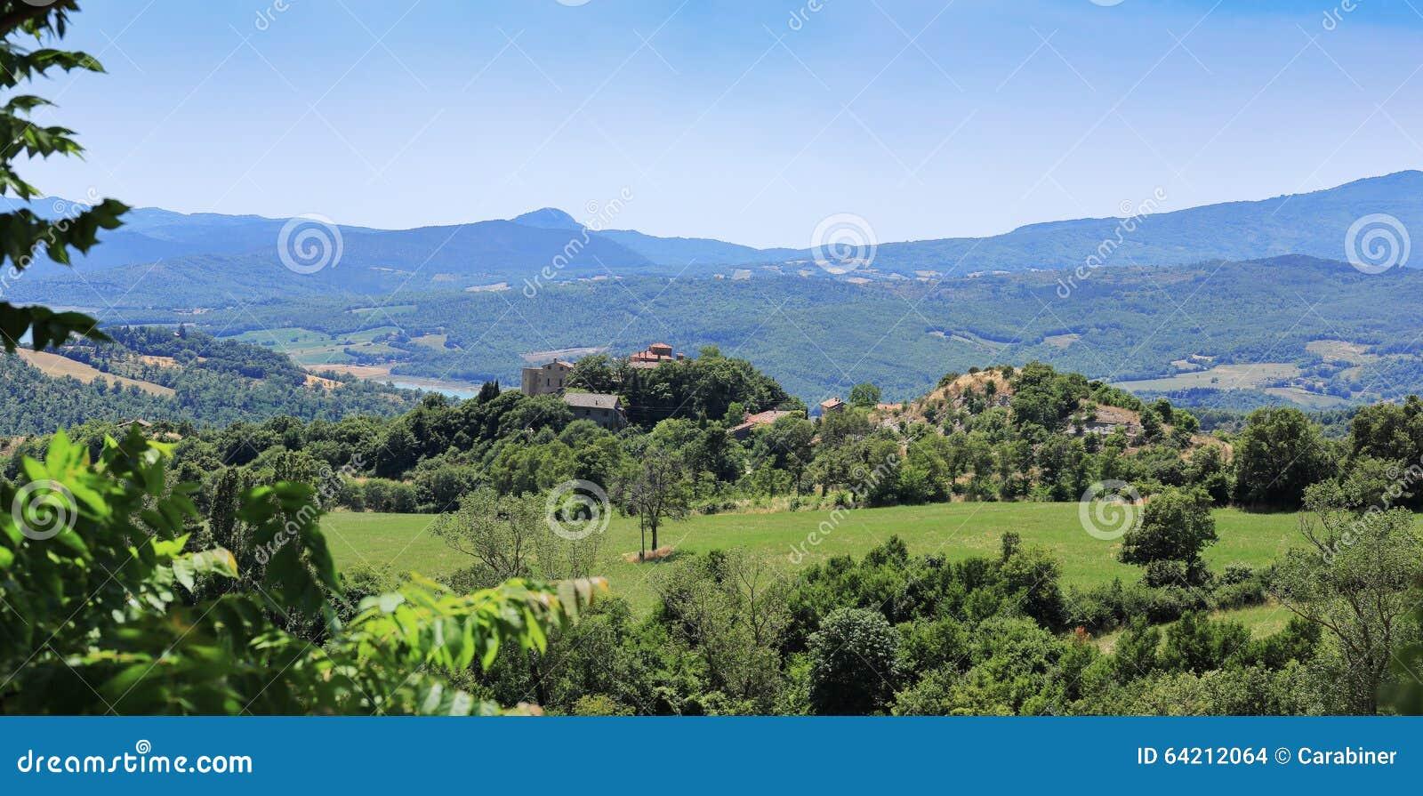 Paisaje agrícola en Toscana
