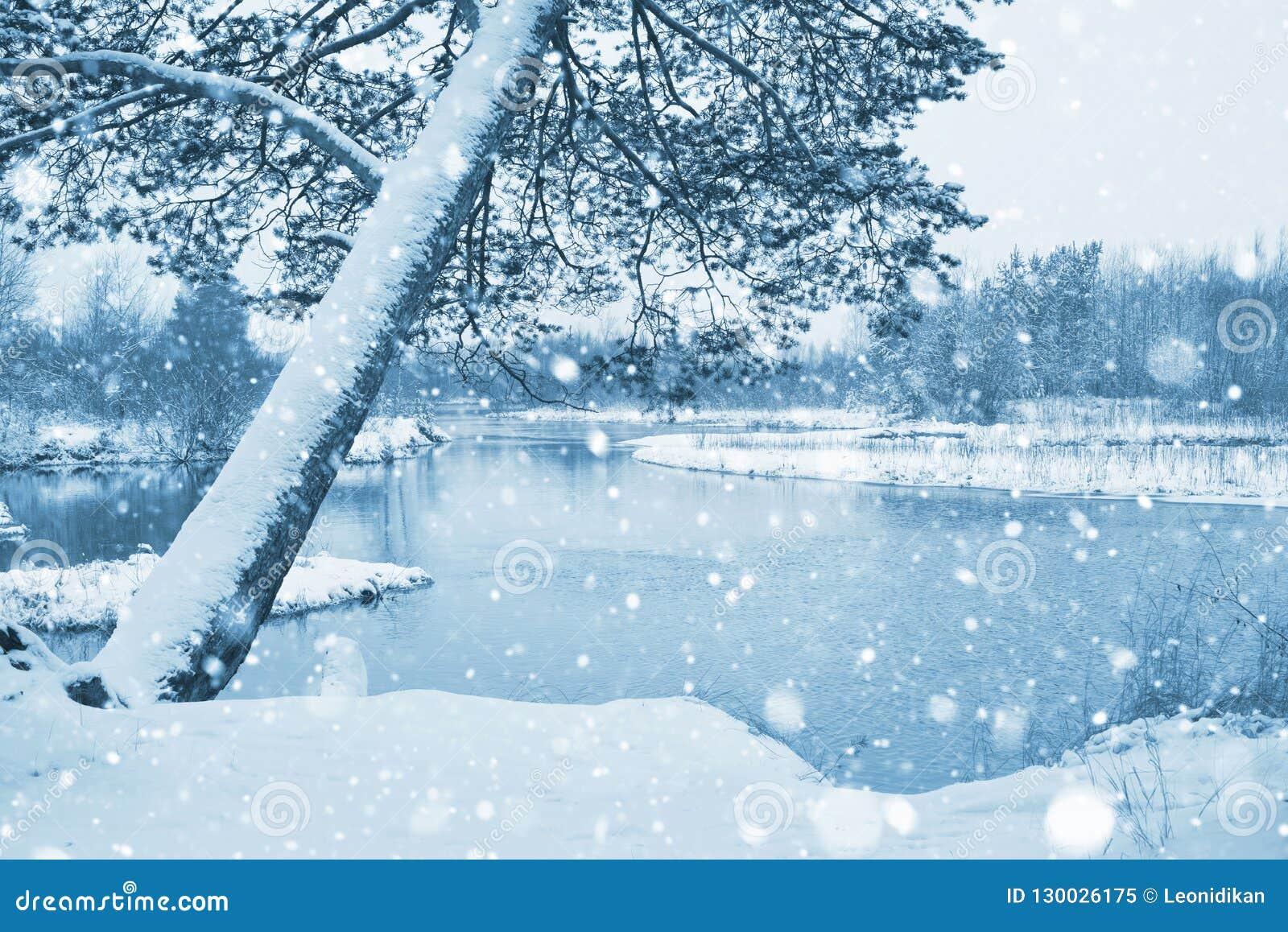Paisaje con la primera nieve
