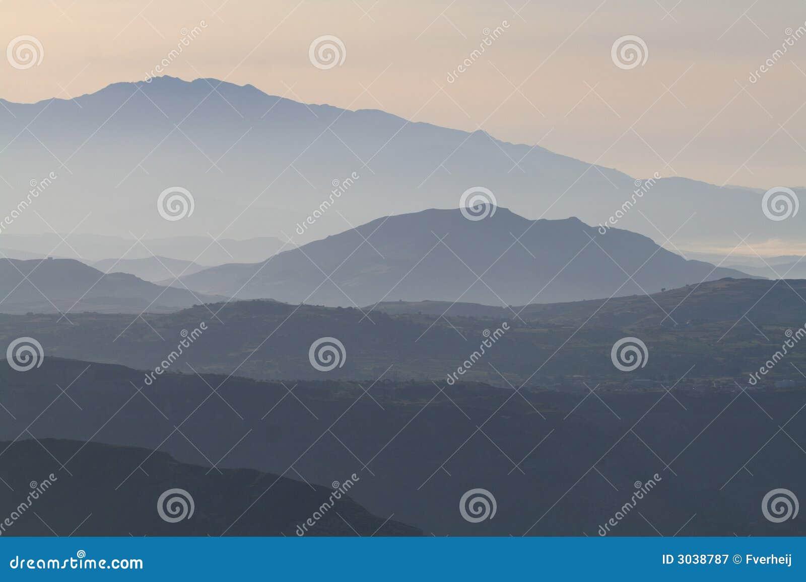 Paisaje Crete 2 de la montaña