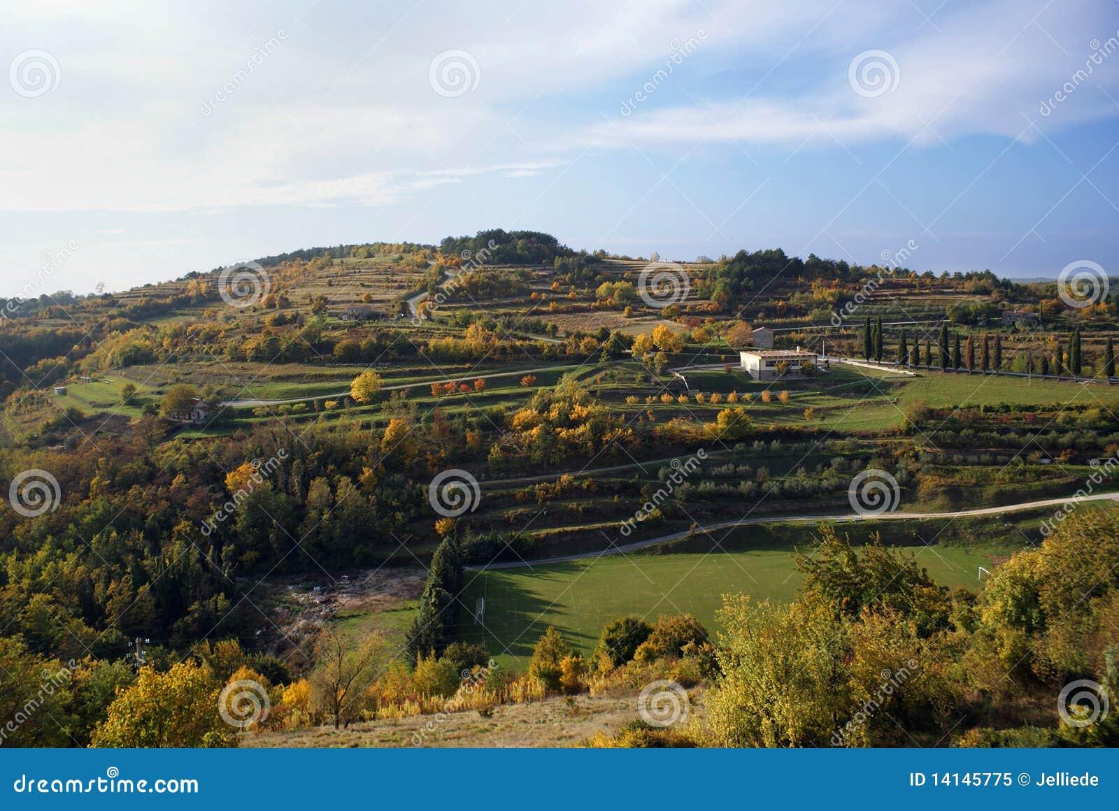Paisaje de Istrian