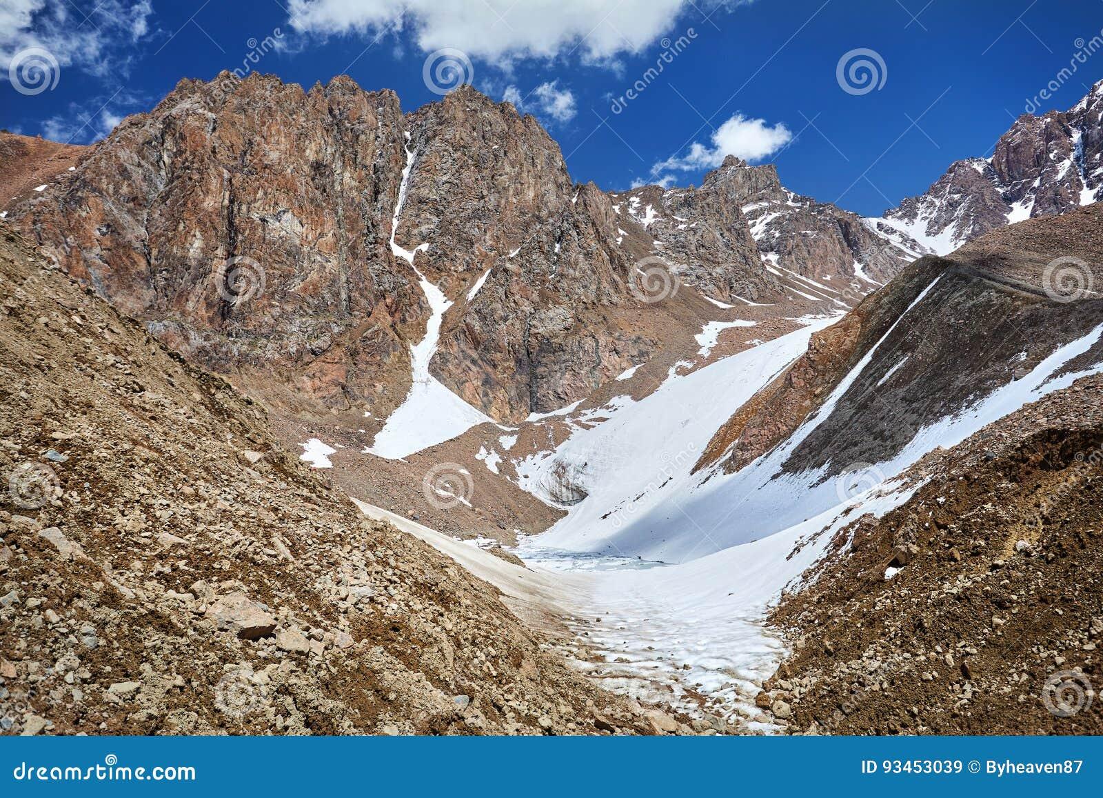 Paisaje de la montaña Nevado