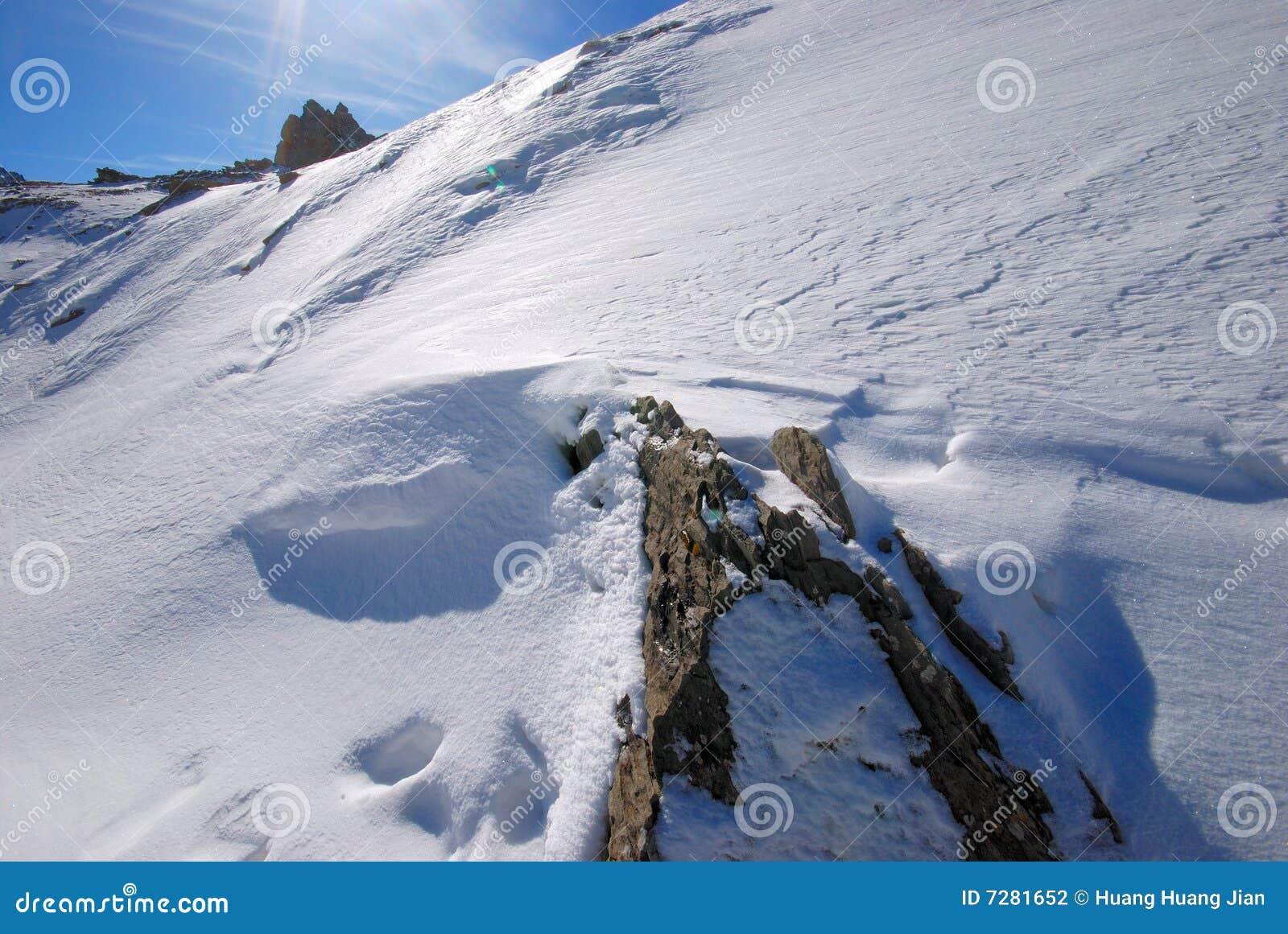 Paisaje de la nieve