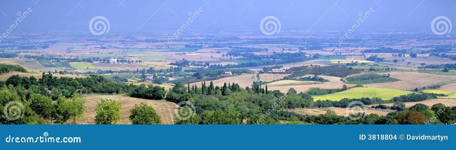 Paisaje de Languedoc
