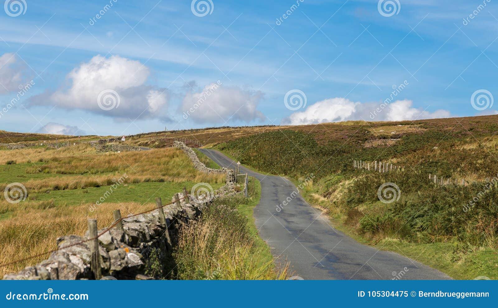 Paisaje de los valles de Yorkshire