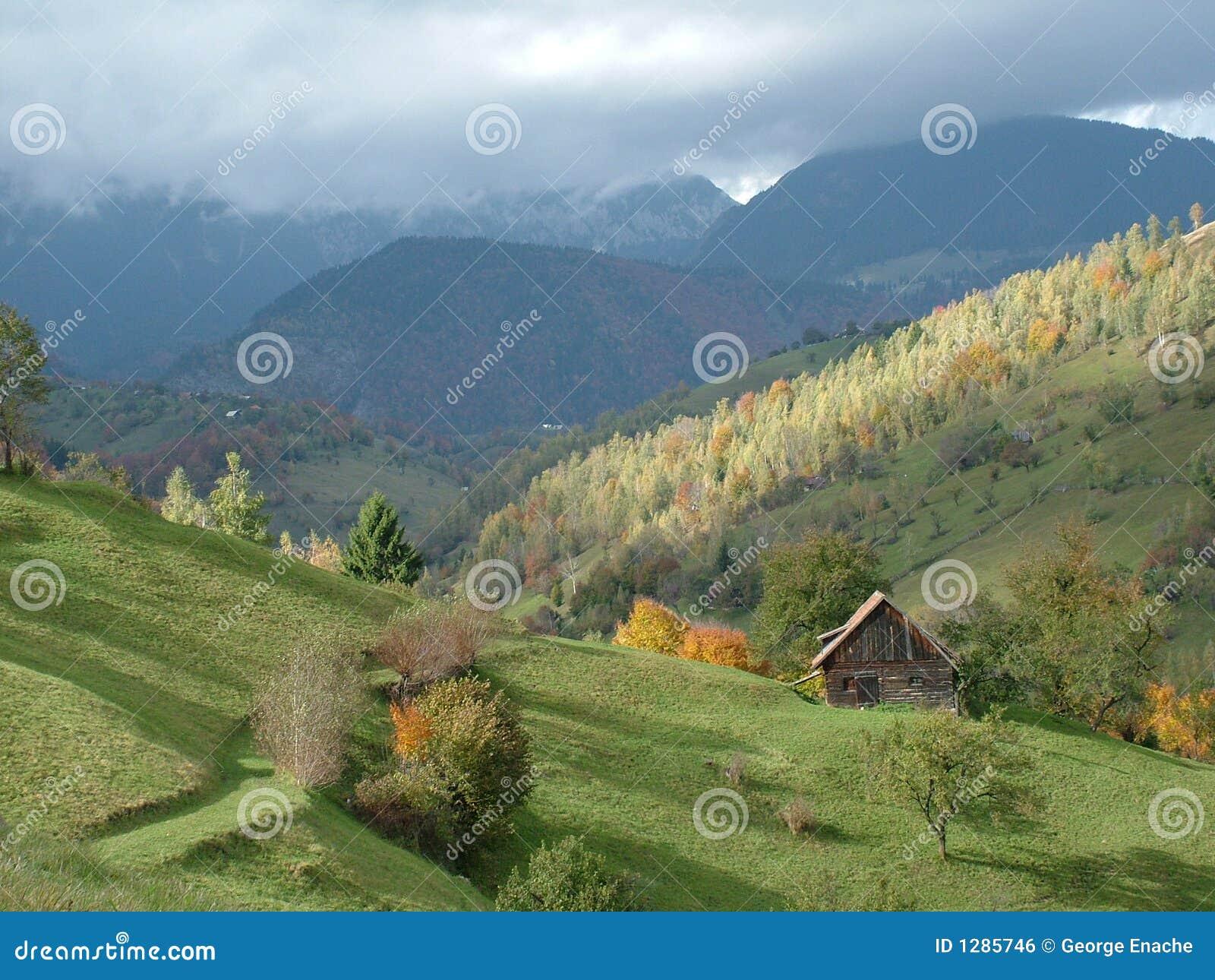 Paisaje de Rumania
