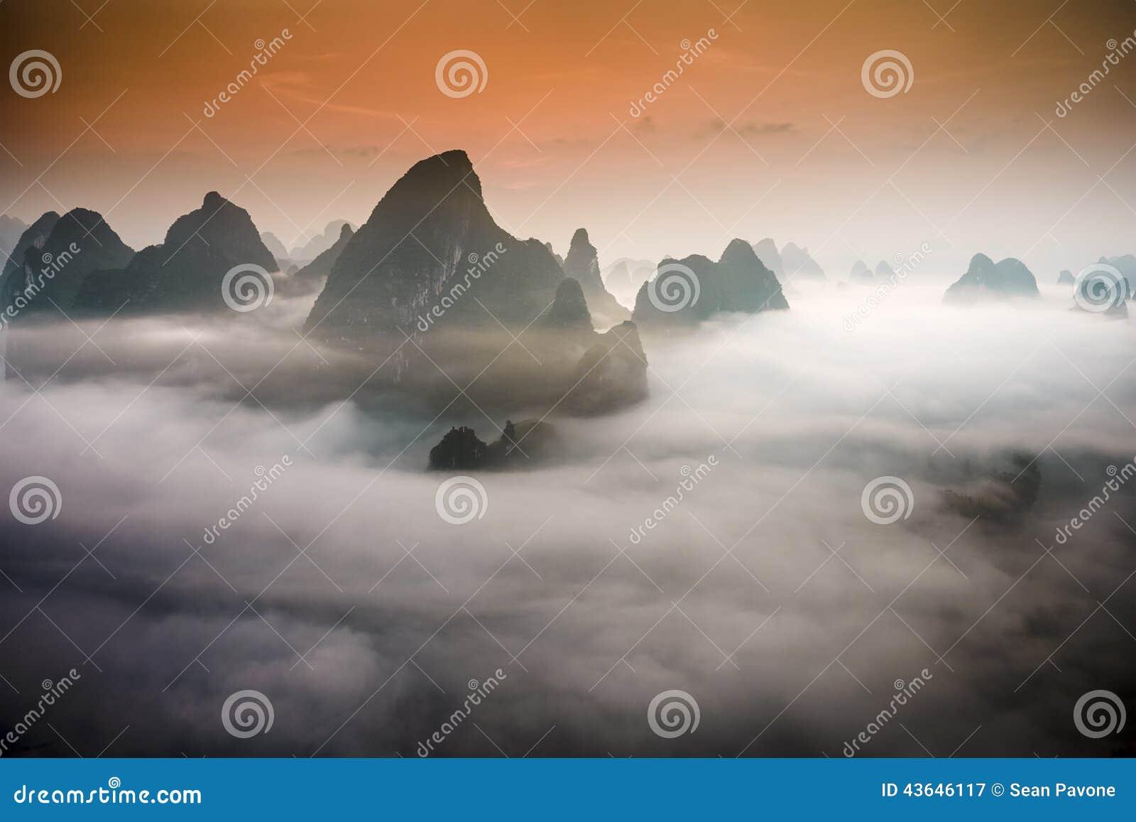 Paisaje de Xingping
