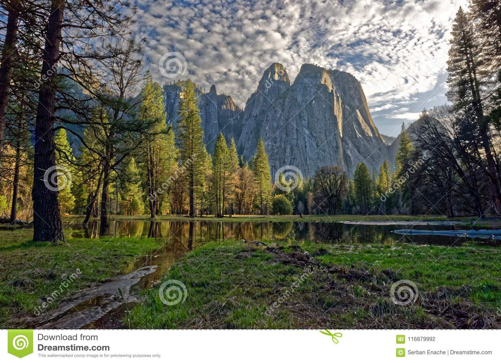 Paisaje de Yosemite