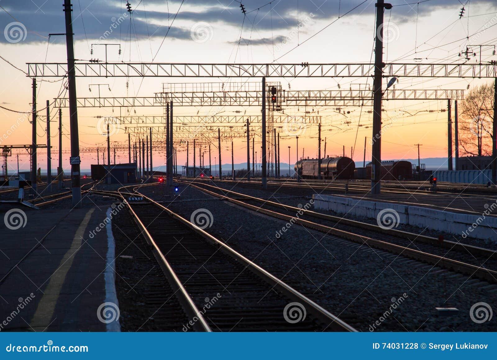 Paisaje del ferrocarril