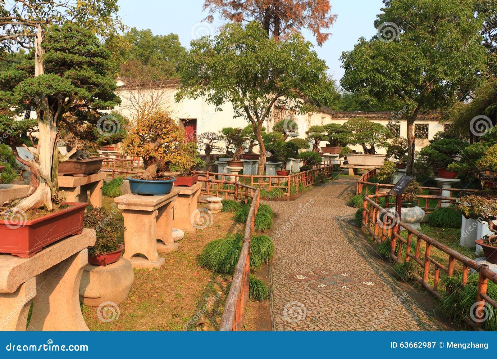 Paisaje Del Jardín De Rocalla En El Jardín Liuyuan En El ...