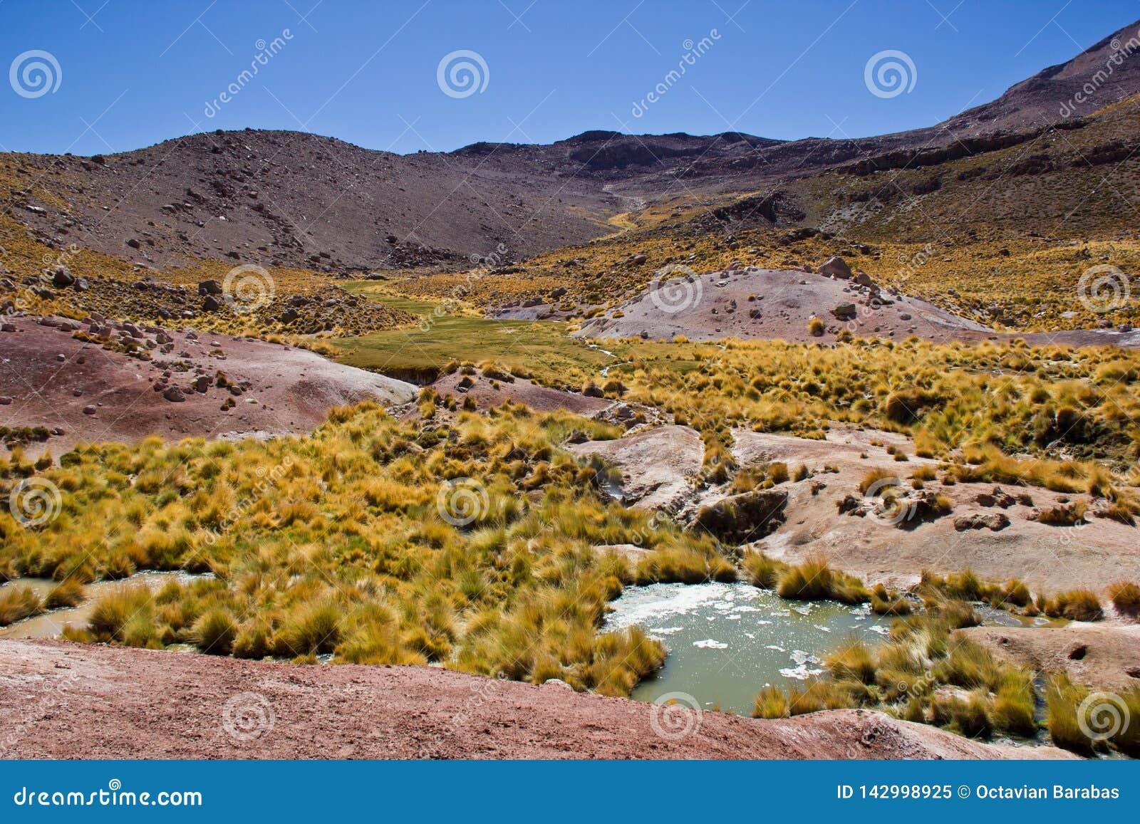 Paisaje en Chile/Atacama