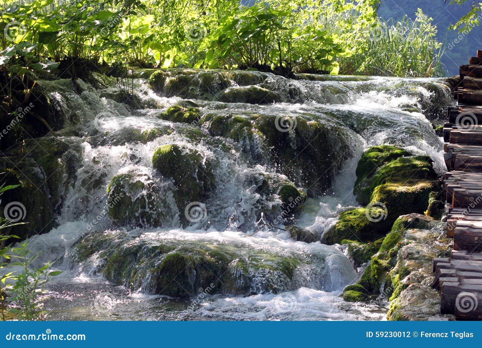 Download Paisaje Espectacular En El Parque Nacional De Plitvice Foto de archivo - Imagen de espectacular, río: 59230012