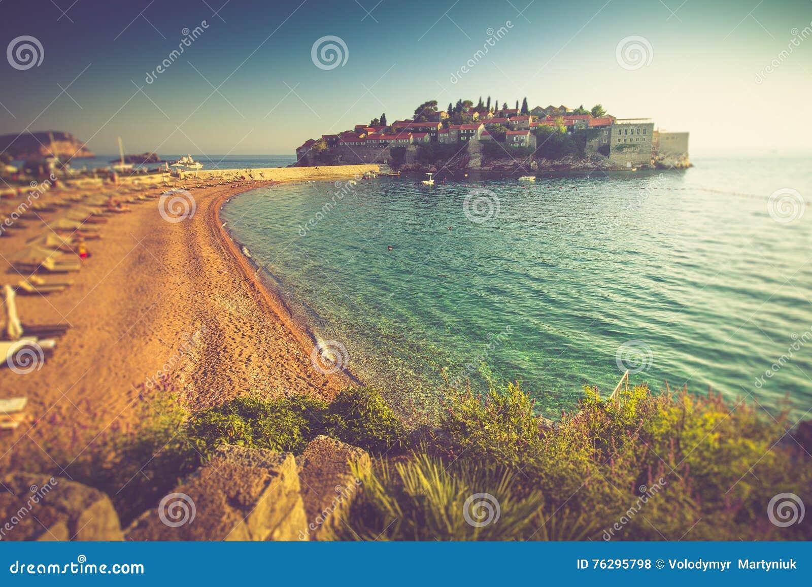 paisaje hermoso del centro tur stico isle o y de la playa