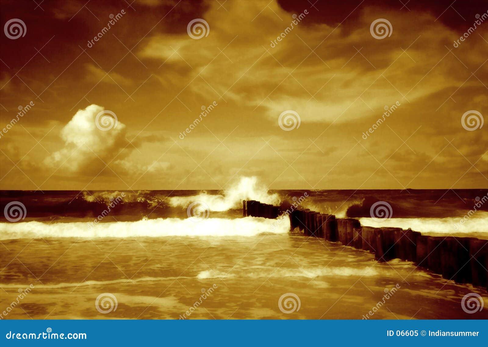 Paisaje marino II
