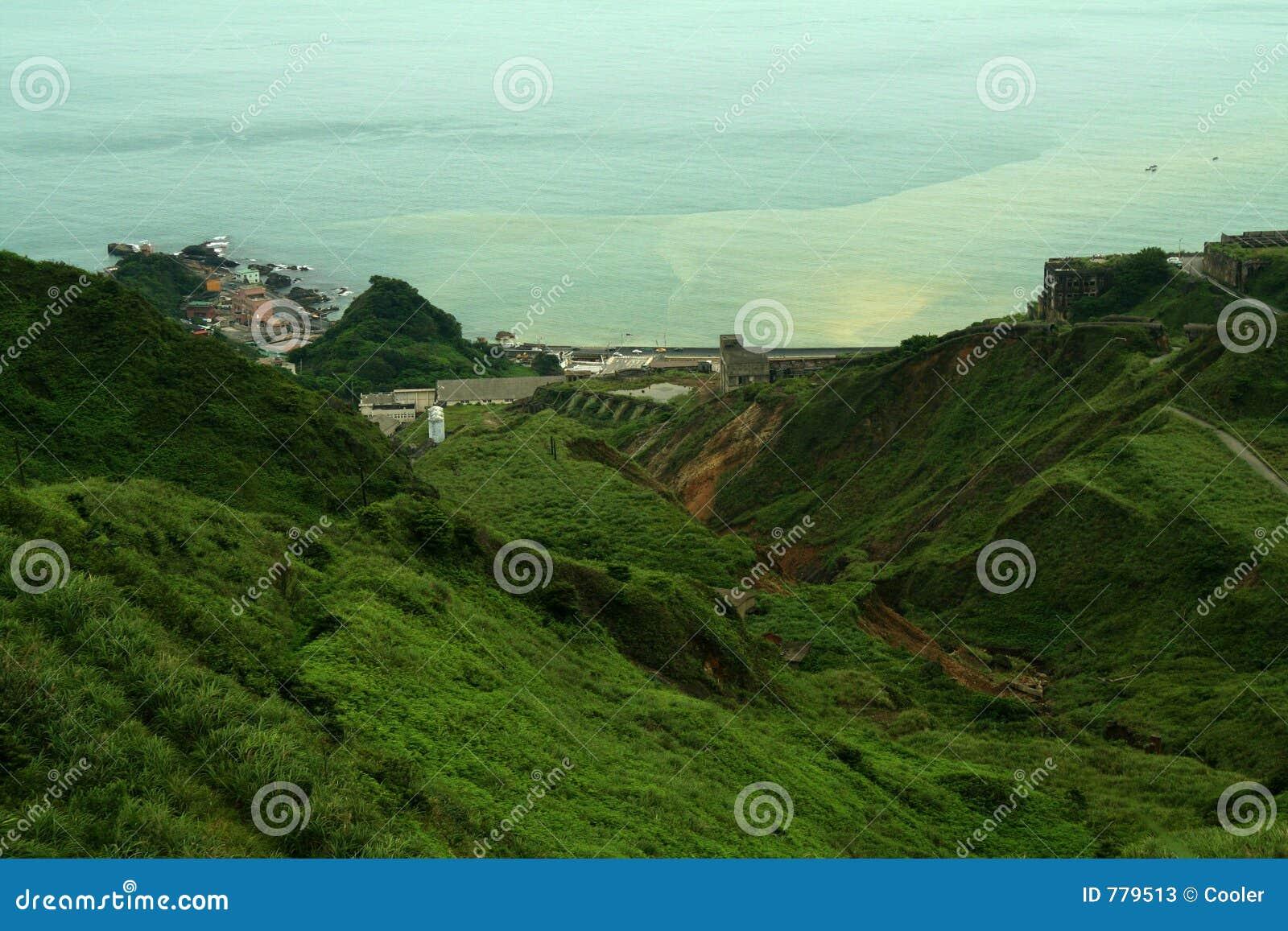 Paisaje montañoso Taiwán