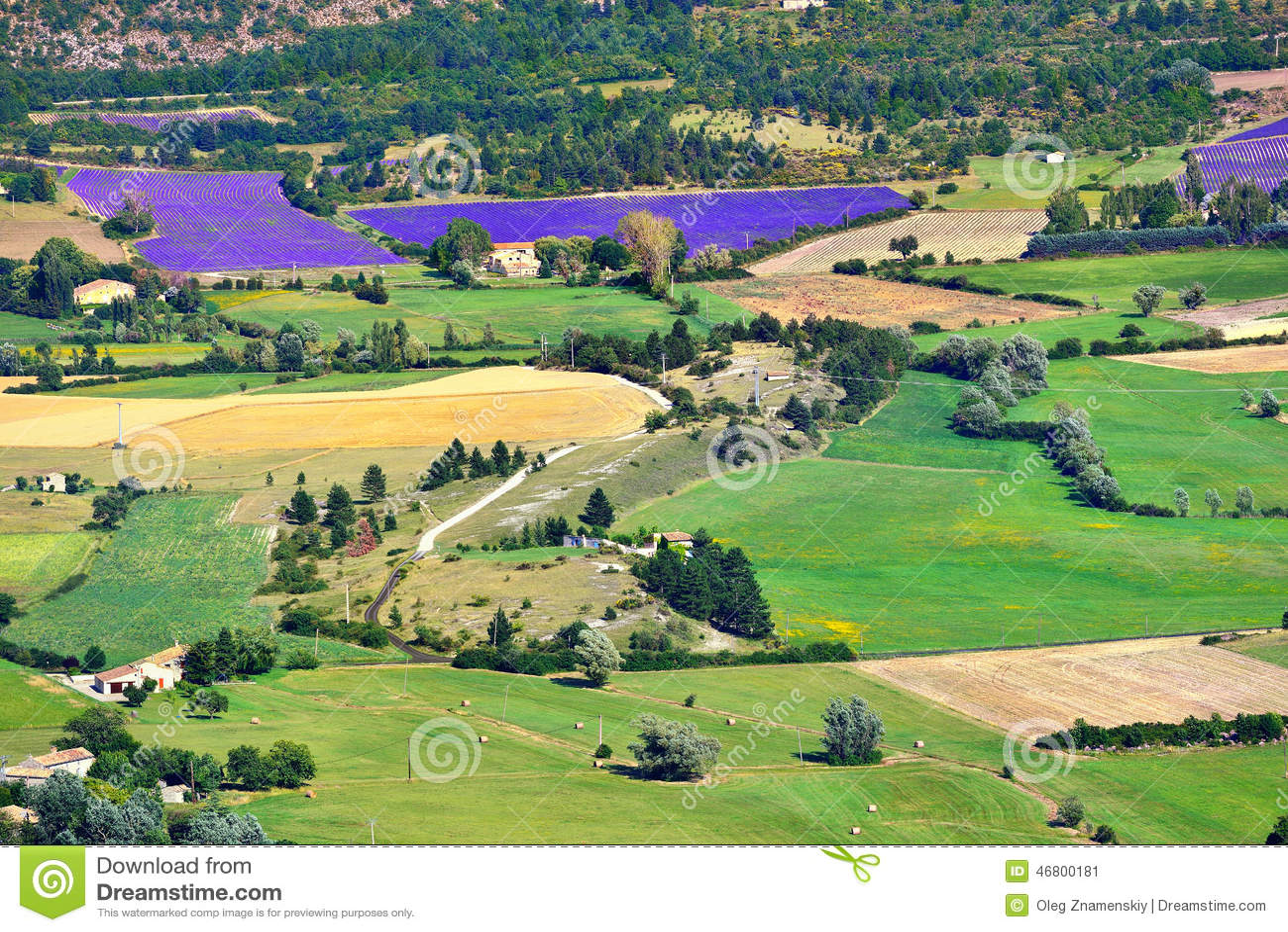 Paisaje rural de Provence