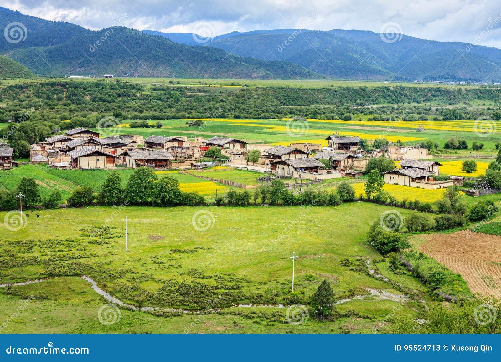 Paisaje rural, Shangri-La