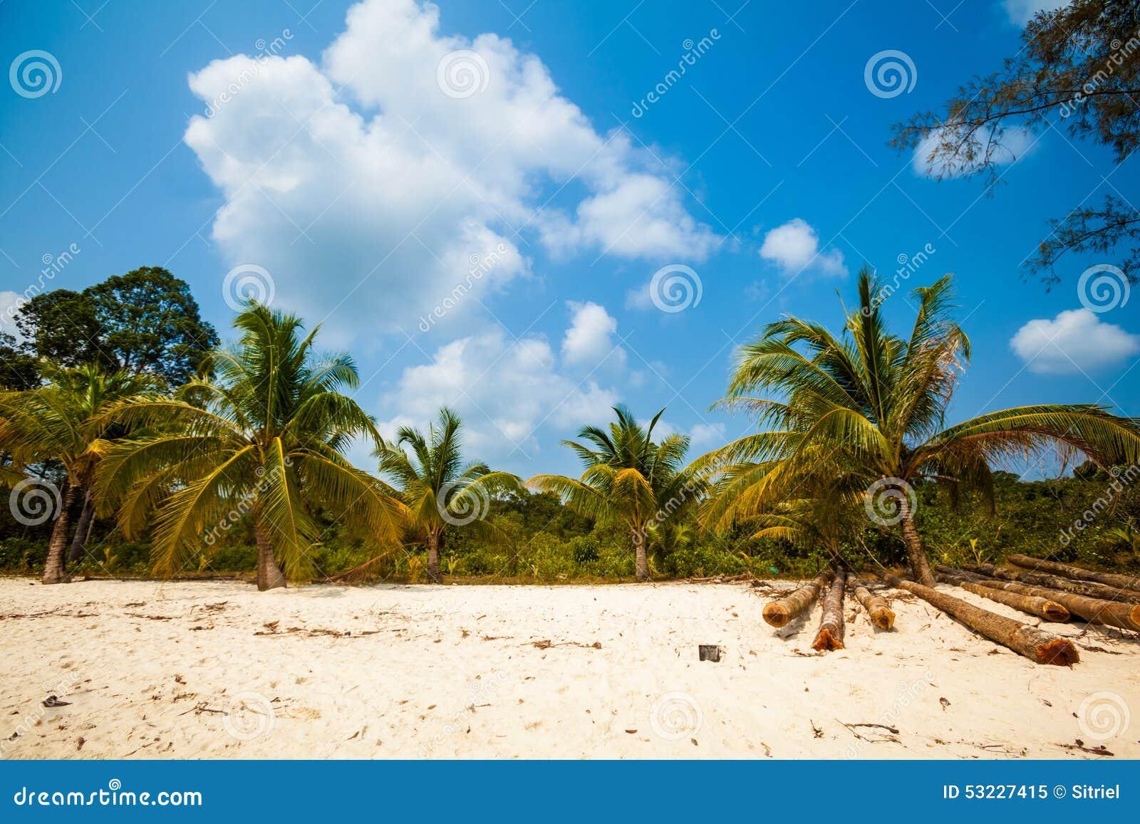 Paisaje tropical de Koh Rong