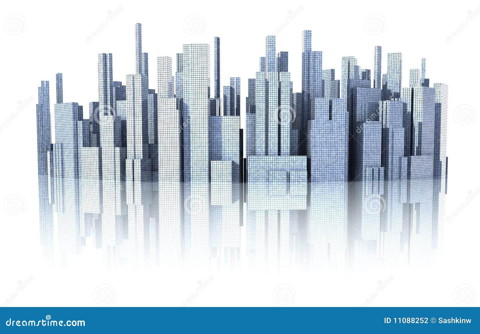 Paisaje urbano 3d