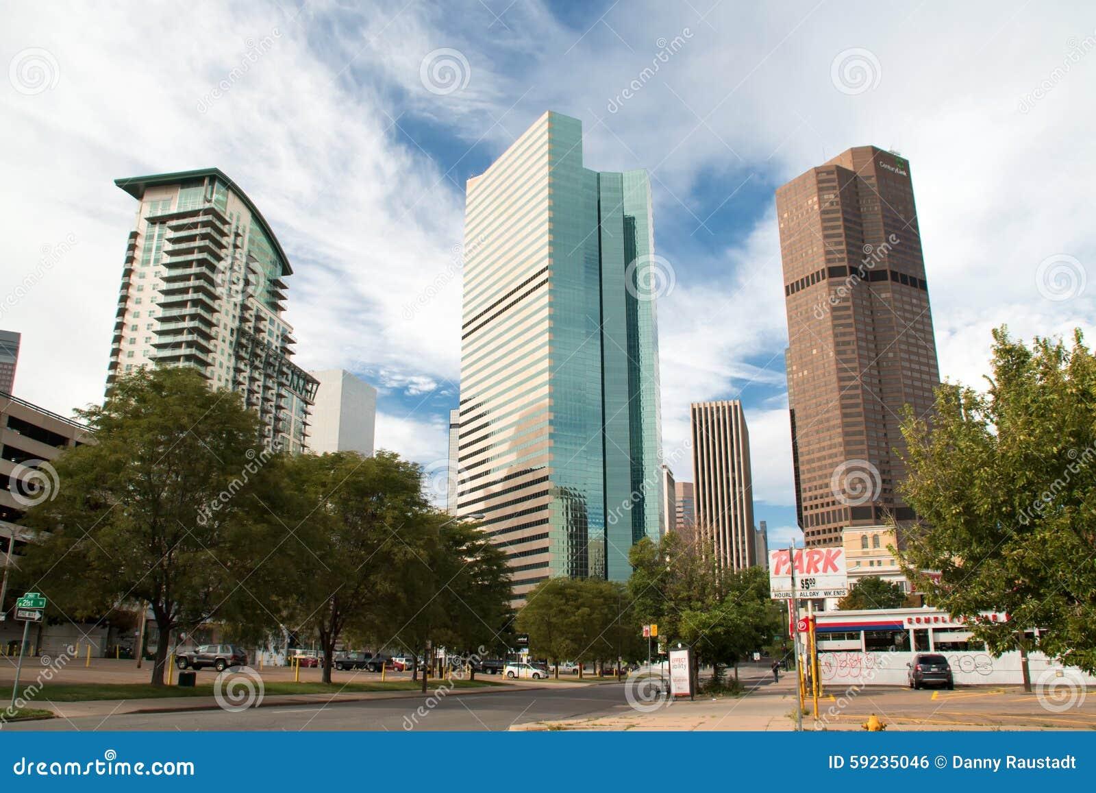 Paisaje urbano céntrico de Denver