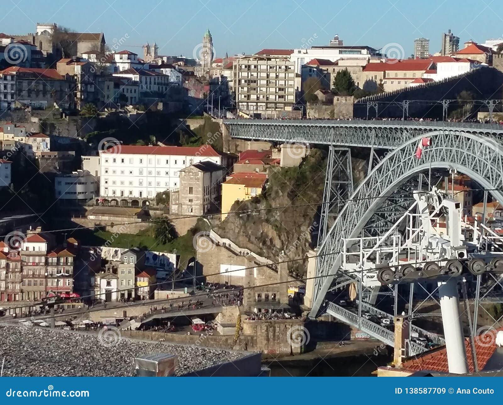 Paisaje urbano de Oporto, Portugal