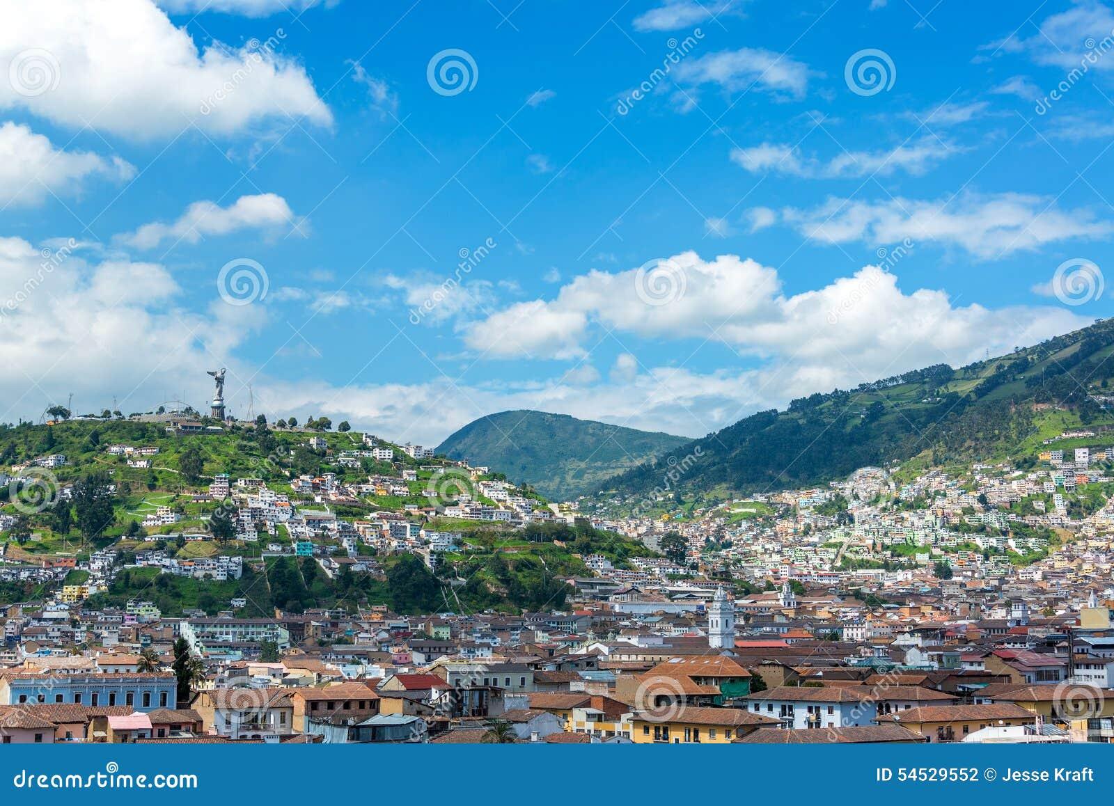 Paisaje urbano de Quito, Ecuador