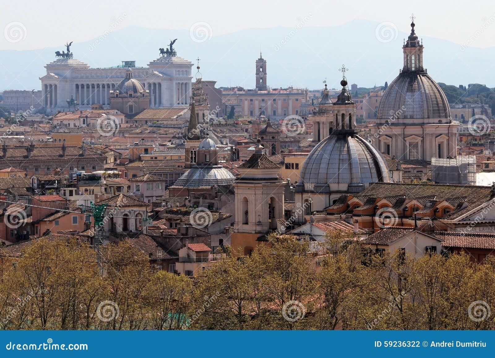 Paisaje urbano de Roma