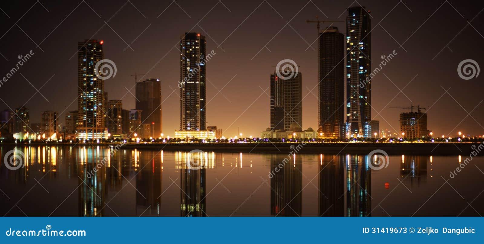 Paisaje urbano de Sharja