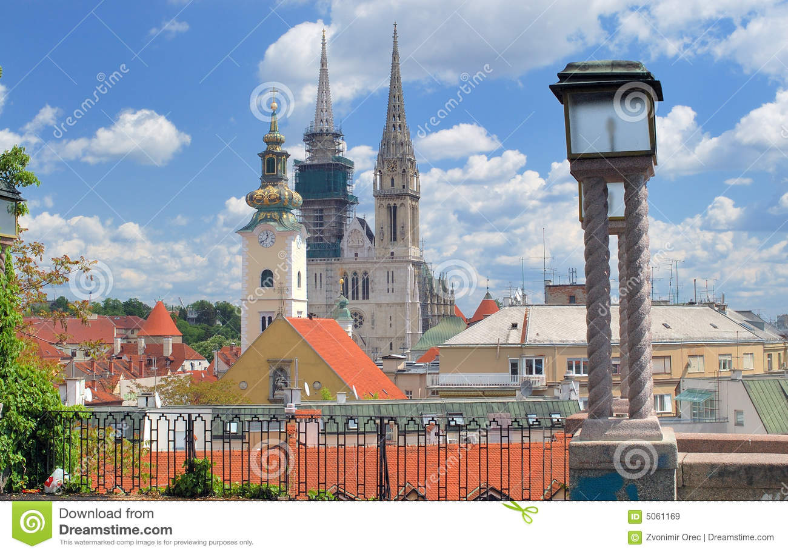 Paisaje urbano de Zagreb