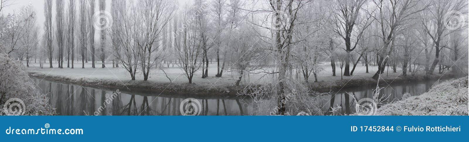 Paisajes del invierno