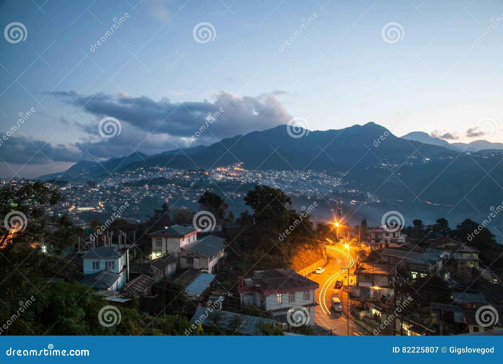 Paisajes urbanos en kohima