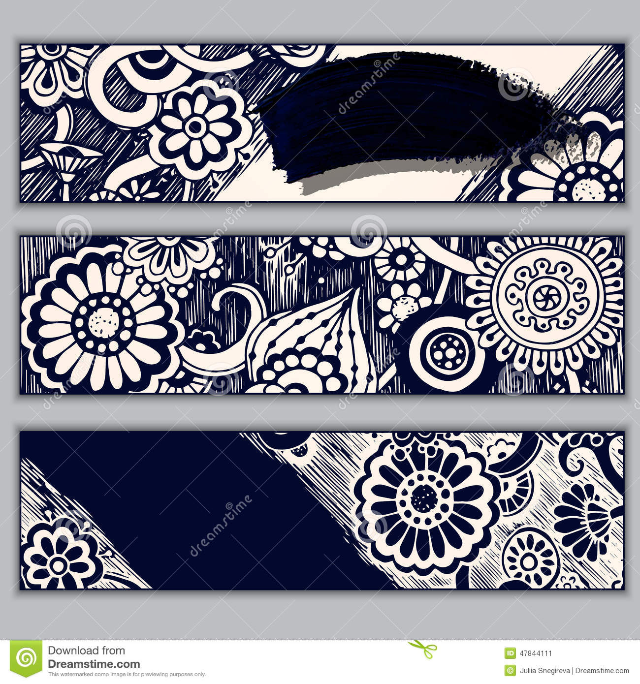 Batik pattern background in vector royalty free stock photos image - Paisley Batik Background Ethnic Doodle Cards Stock Photo
