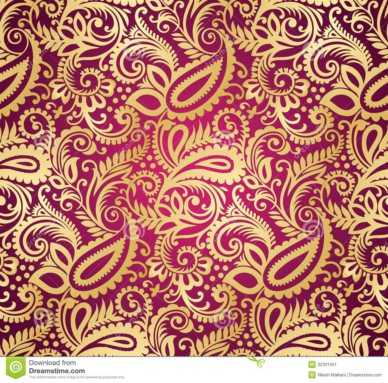 Paisley wallpaper peinture for Paisley wallpaper