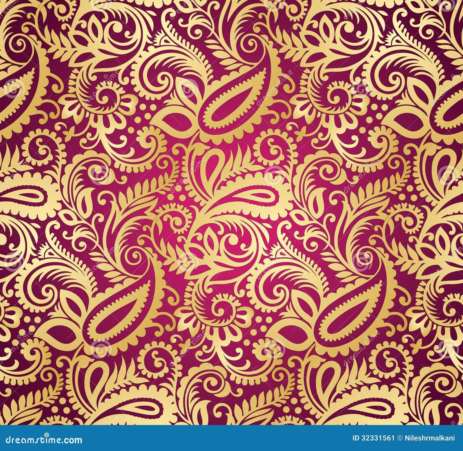 Paisley wallpaper peinture for Paisley wallpaper