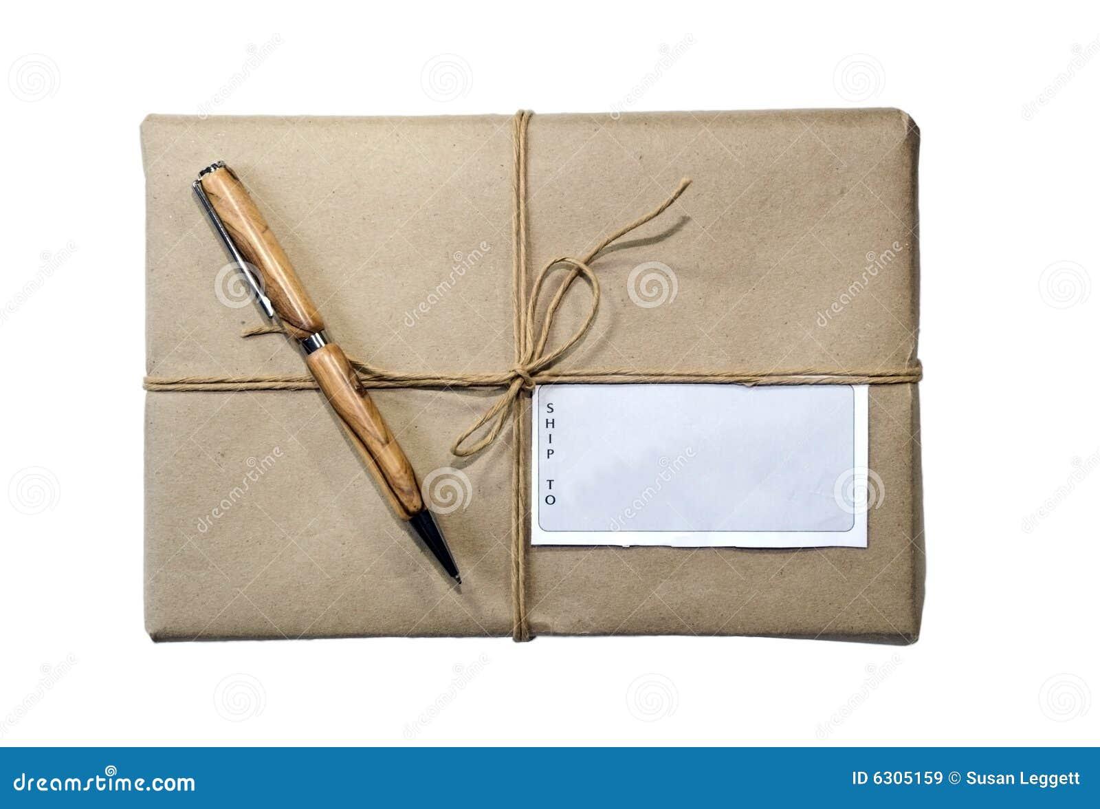 paket paket schnur und kennsatz stockbild bild 6305159. Black Bedroom Furniture Sets. Home Design Ideas
